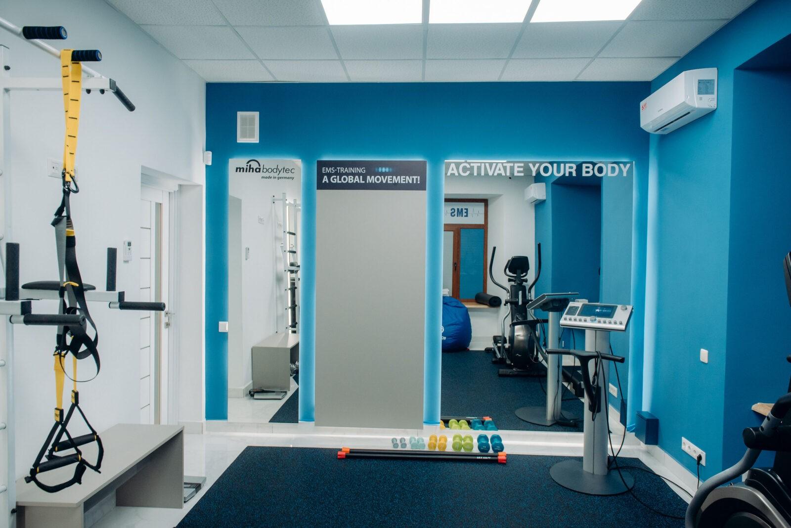Зал для EMS тренировок